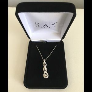 Kay's White Sapphire Necklace